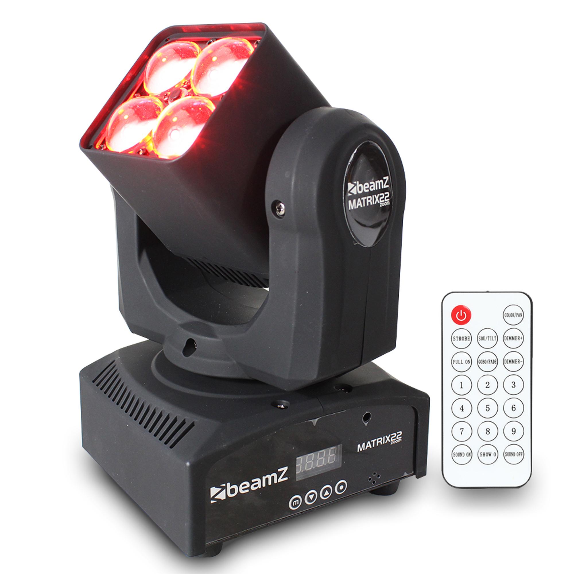 BeamZ Matrix22Z LED Moving Head with Zoom