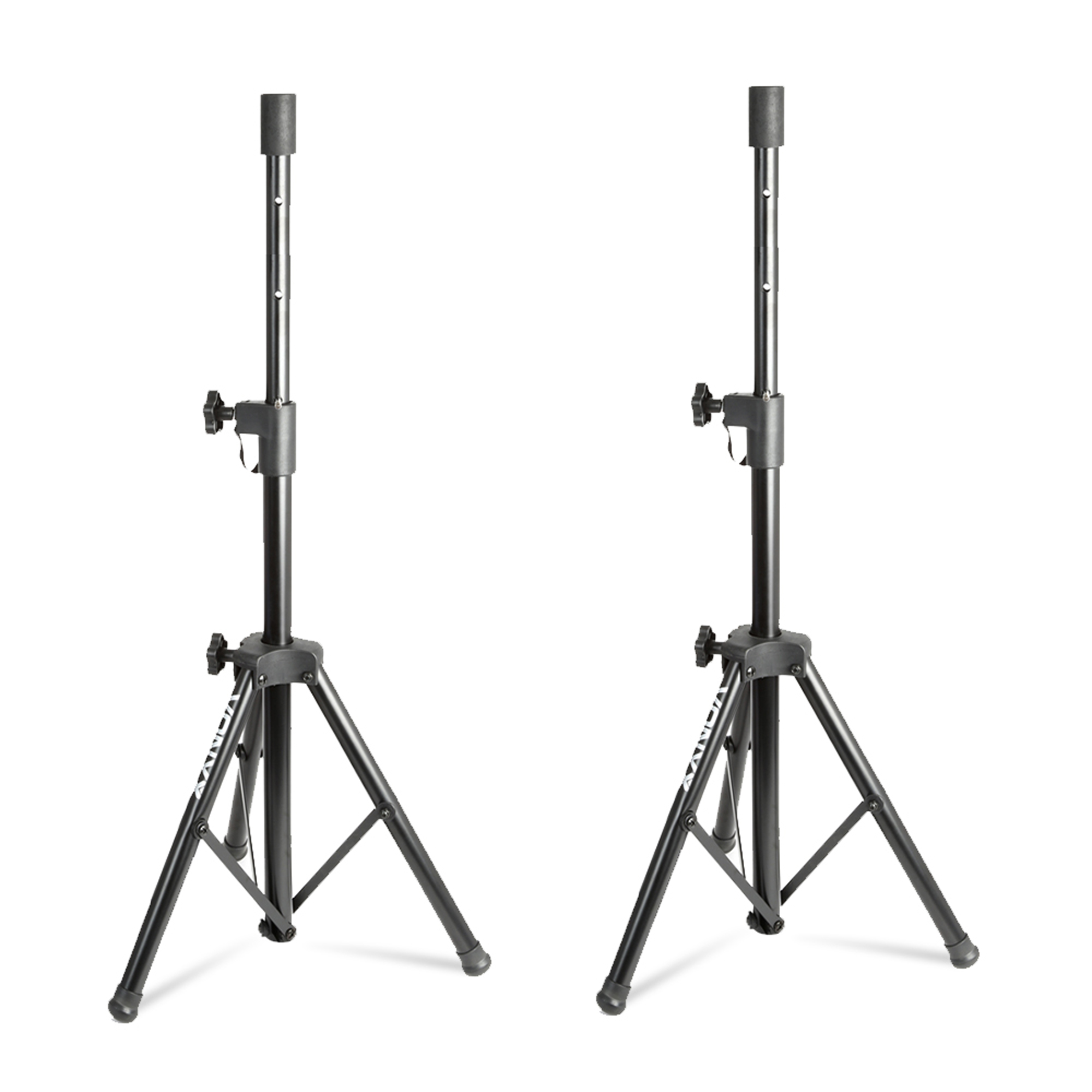 pair max8pair passive 8 home dj disco bedroom party speakers w stands 400w. Black Bedroom Furniture Sets. Home Design Ideas