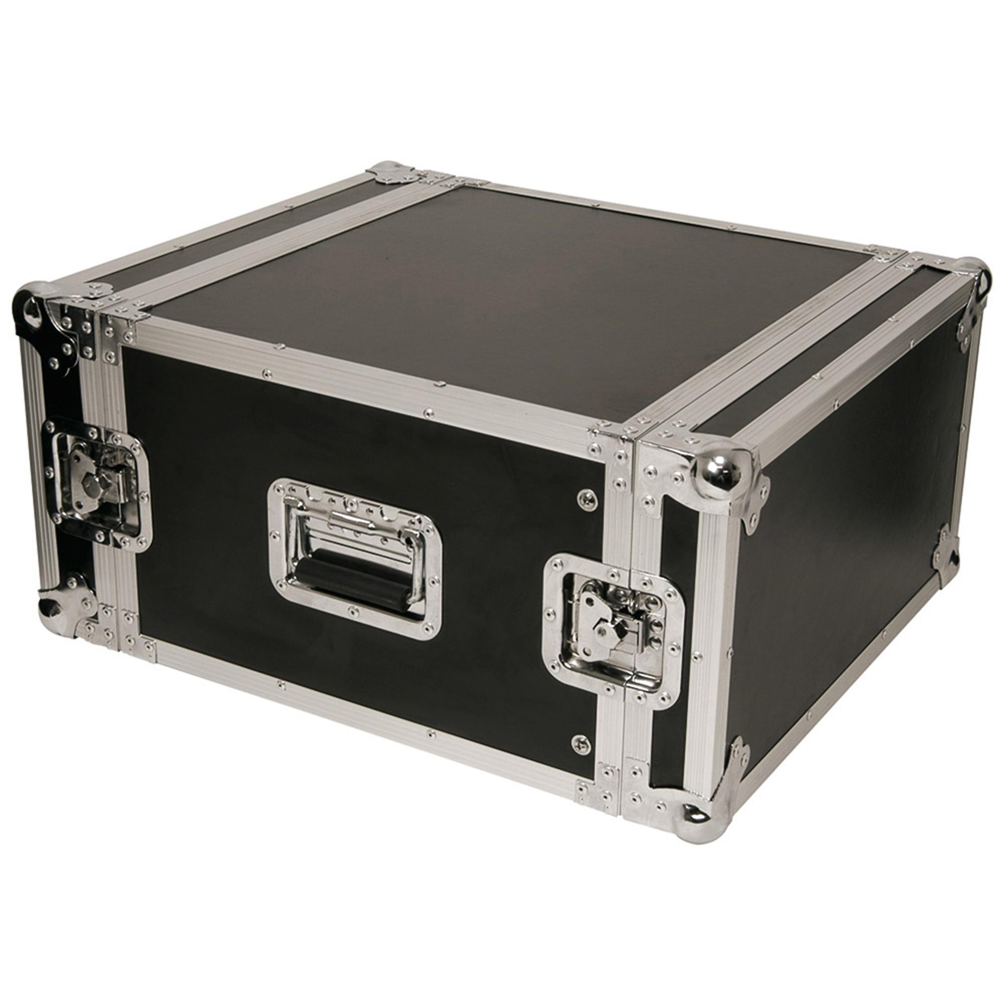 aluminium flightcase fits 4x 19 units mobile dj disco equipment protective case. Black Bedroom Furniture Sets. Home Design Ideas