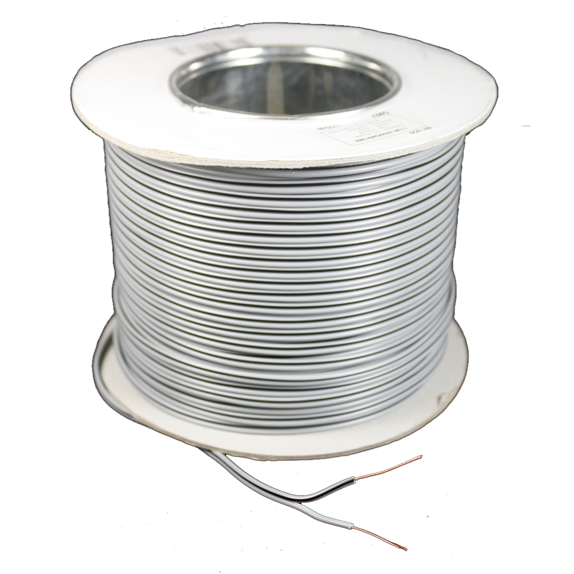 Skytronic 2 Core Figure 8 Speaker Cable Grey 100m