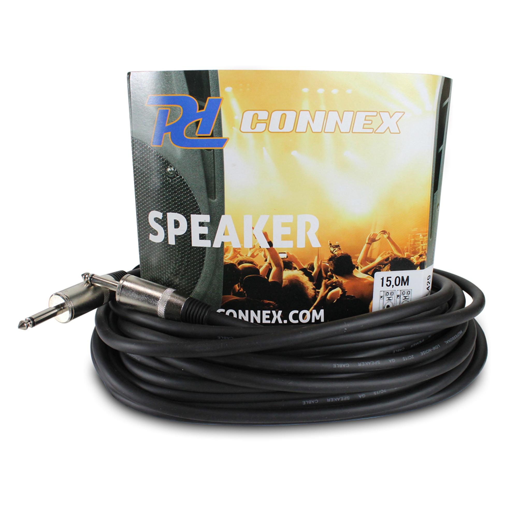 PD Connex 6.35mm Mono Jack - 6.35mm Jack 15M Cable