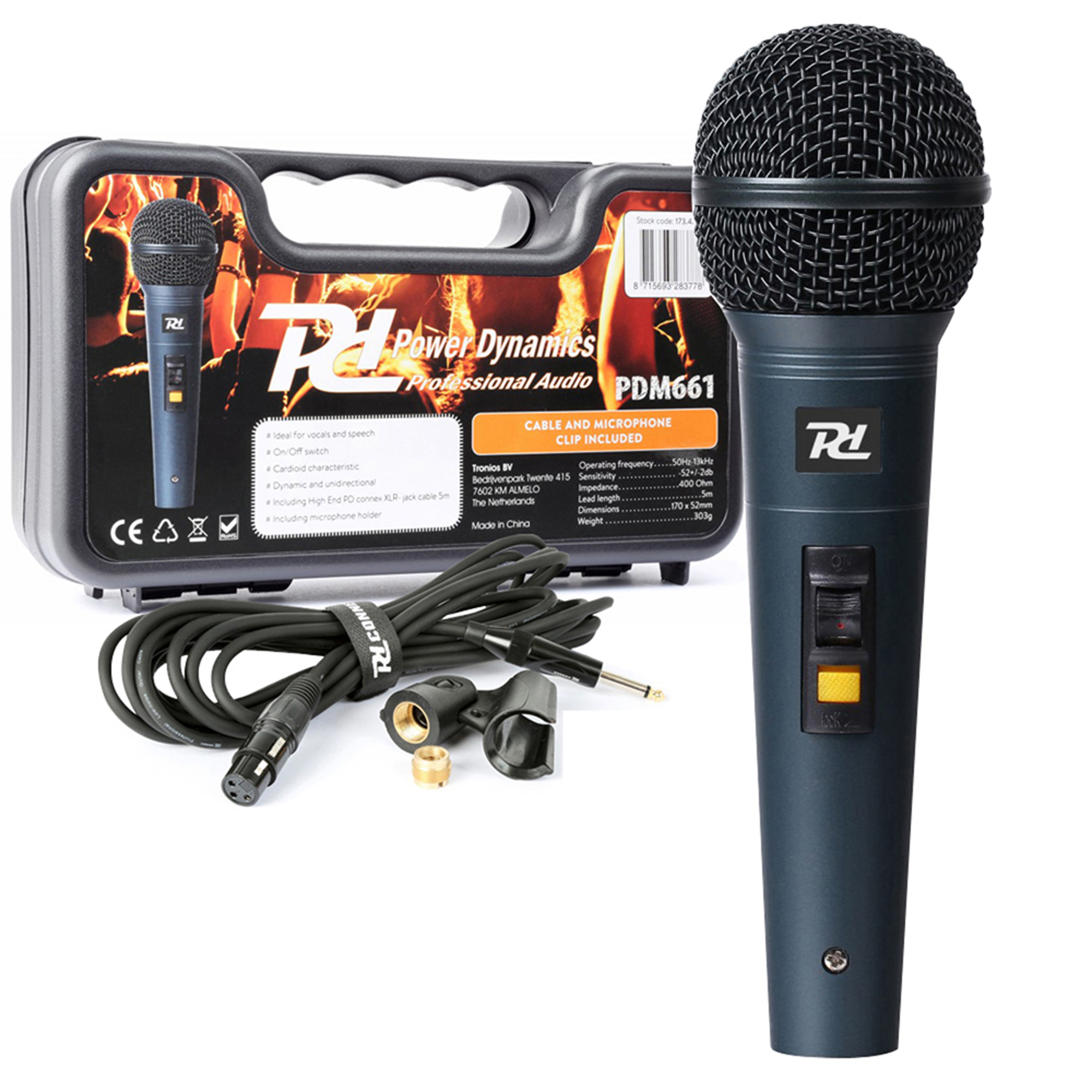 PD PDM661 Wired Handheld Microphone Kit