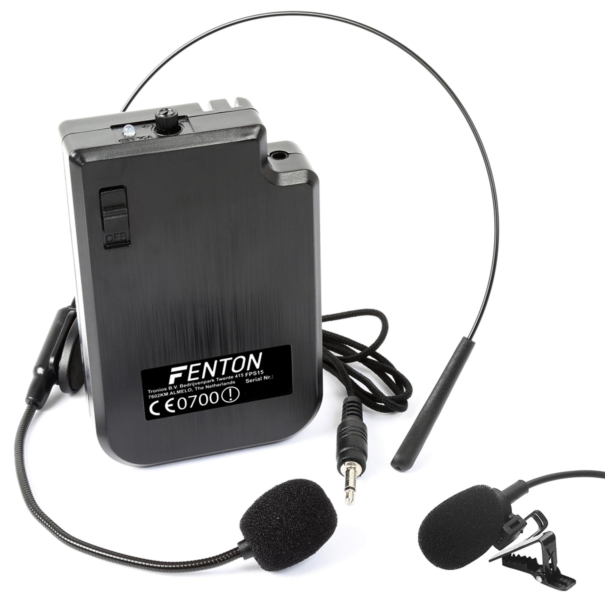 Wireless VHF Microphone Headset Bodypack - Transmitter Only