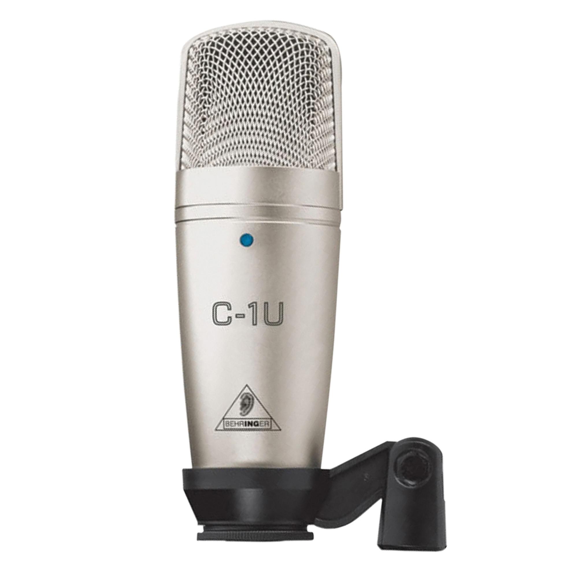 behringer c 1u usb studio condenser microphone including software. Black Bedroom Furniture Sets. Home Design Ideas