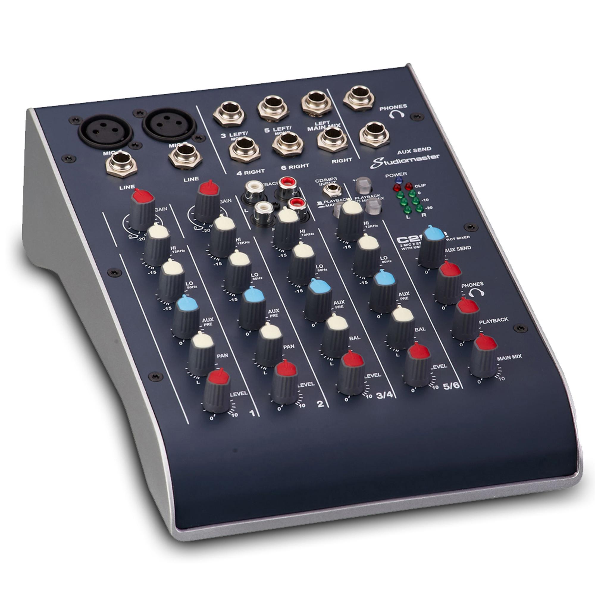 Studiomaster C2 Ultra Compact Mixer