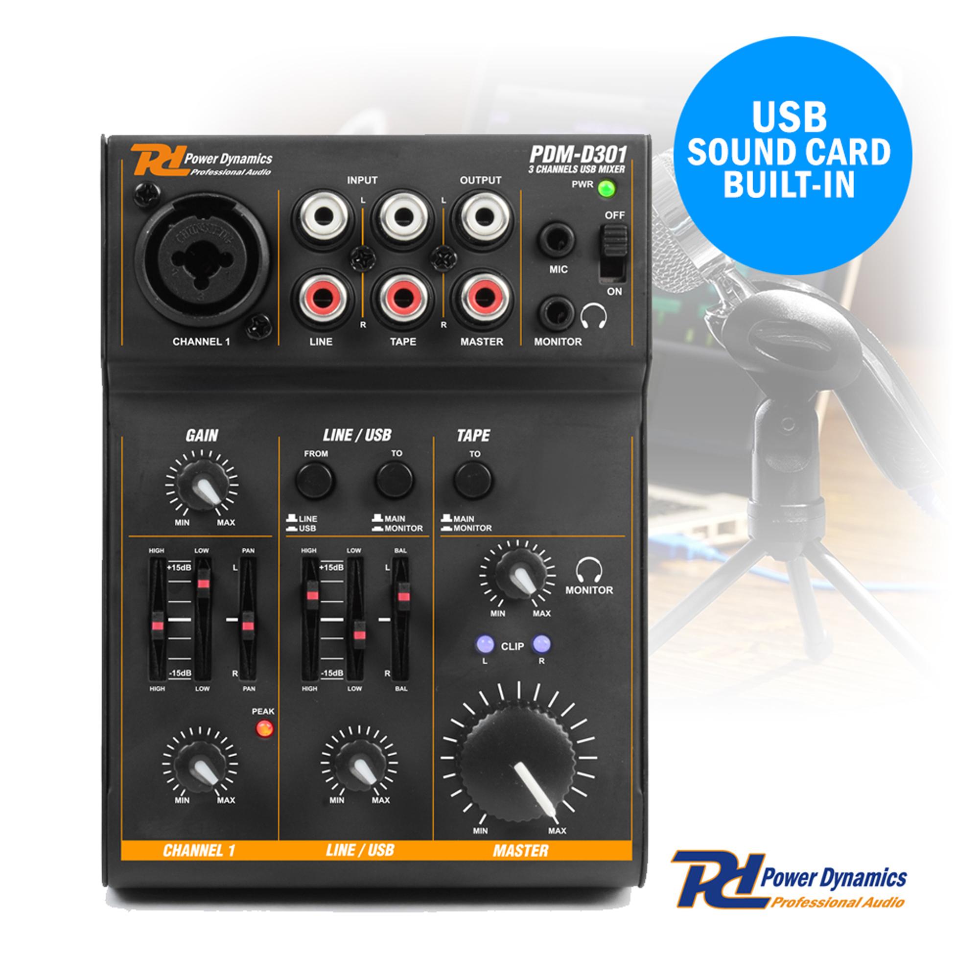 podcast desktop studio microphone and 3 channel usb live mixer recording set. Black Bedroom Furniture Sets. Home Design Ideas