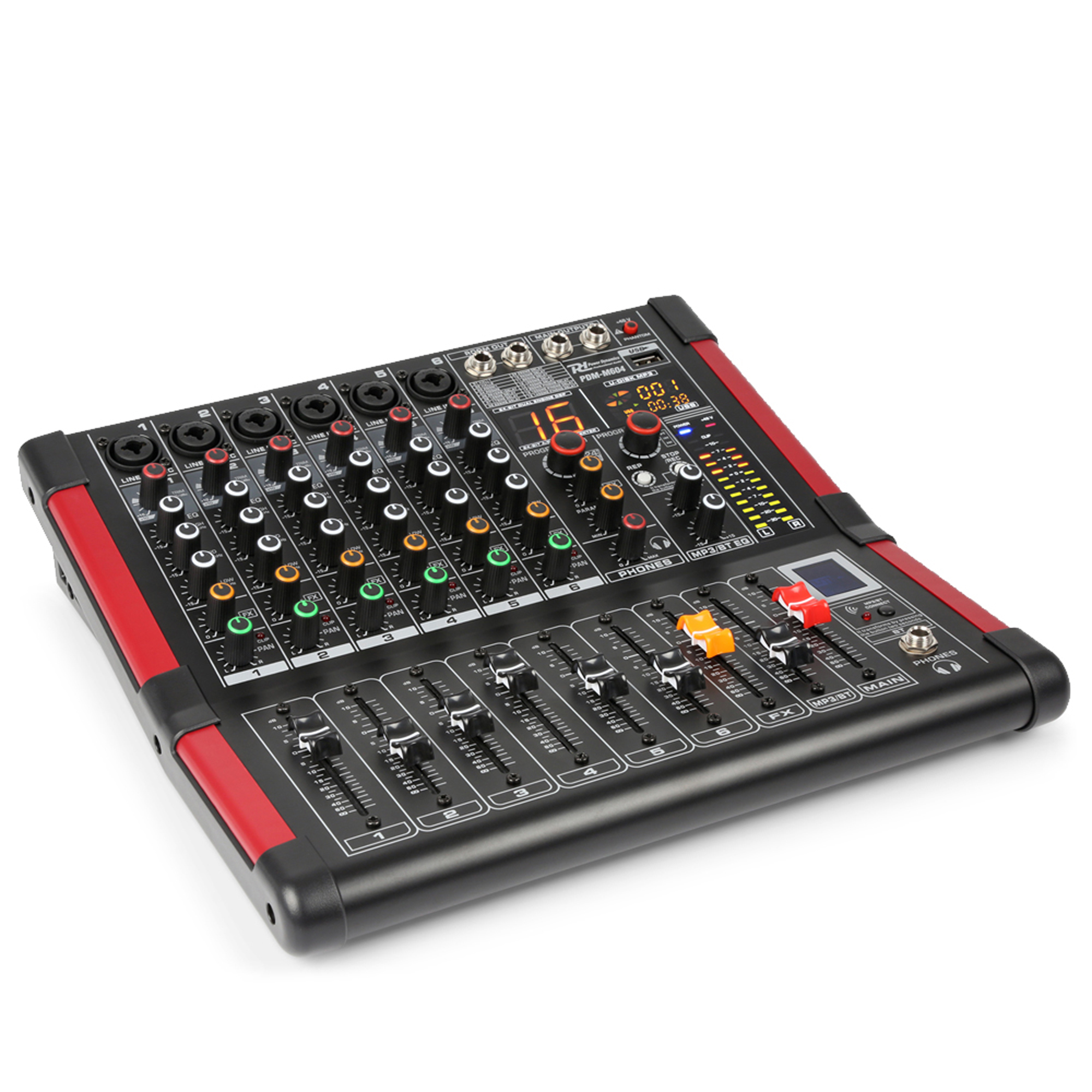 PD PDM-M604 6-Channel Music Mixer