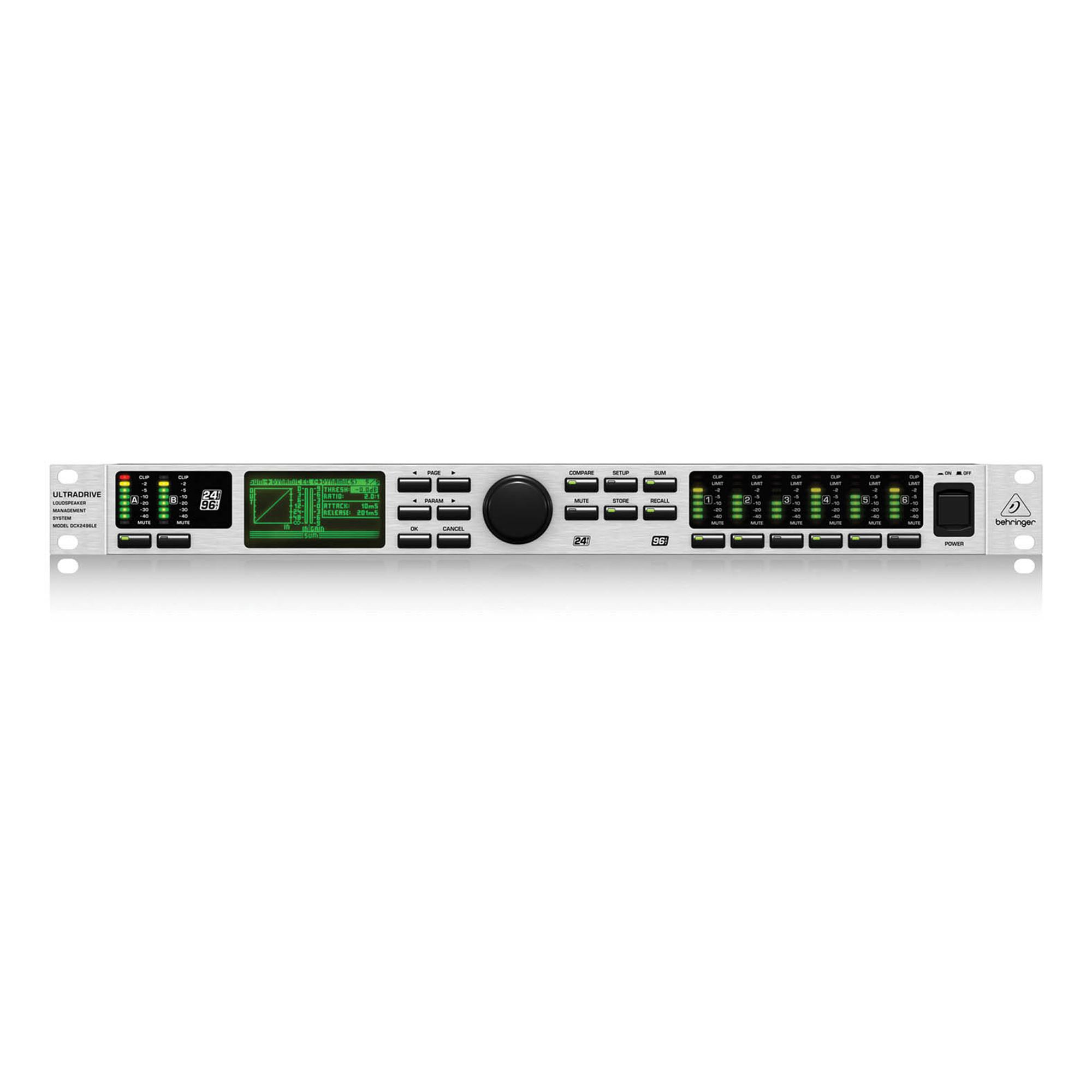 behringer dcx2496le ultradrive pro loudspeaker management system. Black Bedroom Furniture Sets. Home Design Ideas