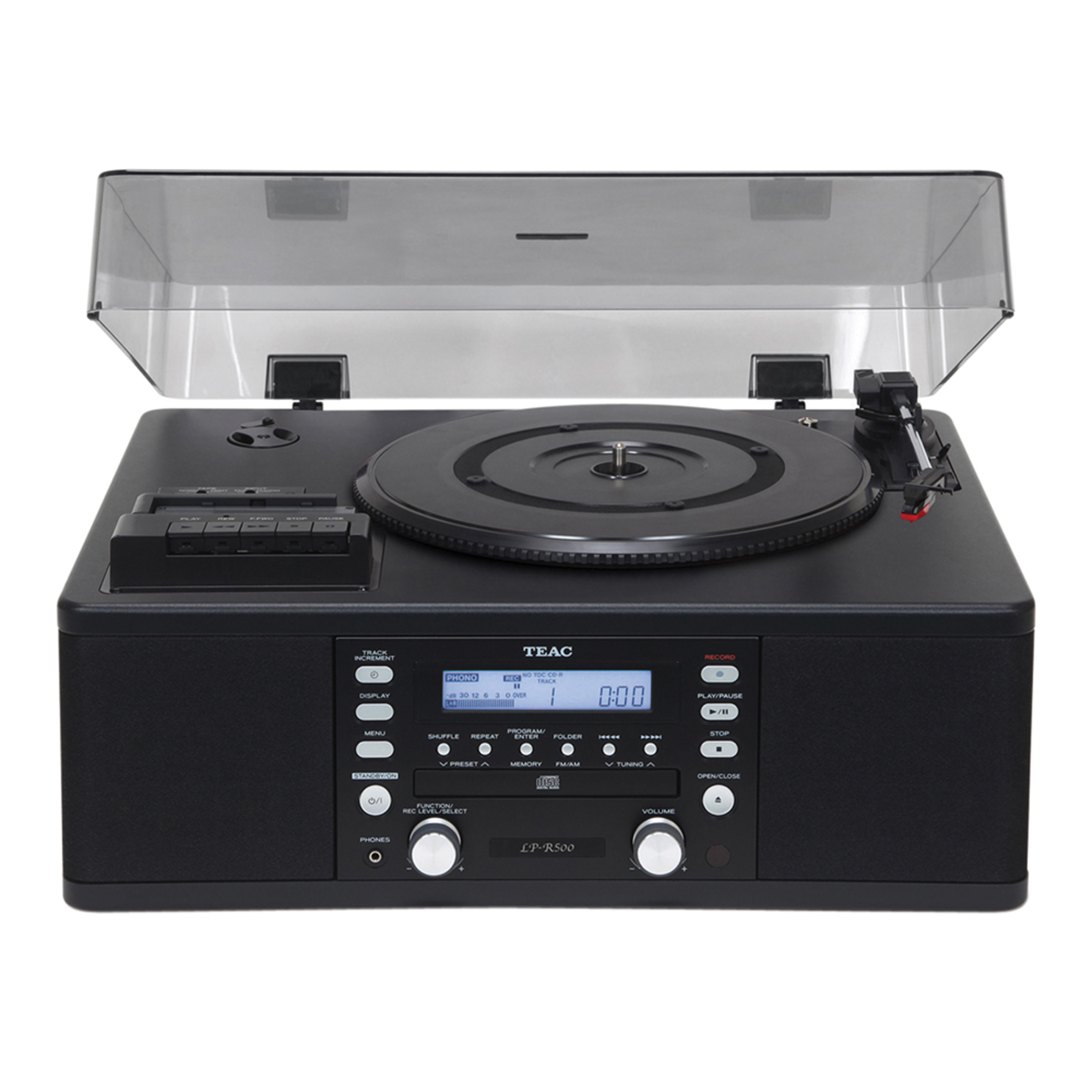 Teac Te065a Lpr500 Turntable With Cd Burner Cassette