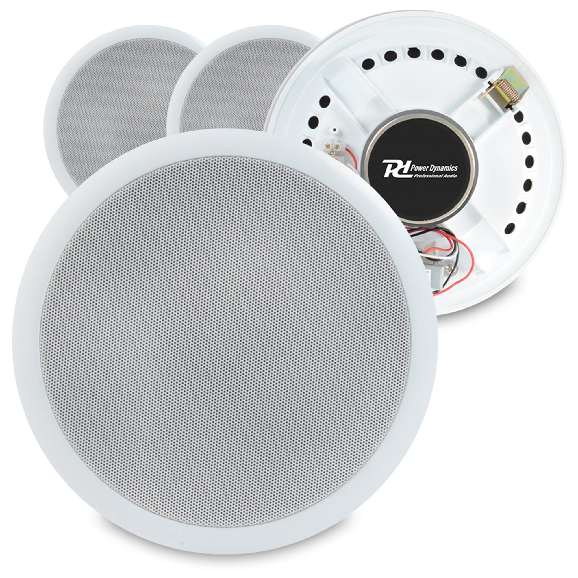 """PD CSPB6 6.5"""" Ceiling Speaker 100V Line, Set of 4"""