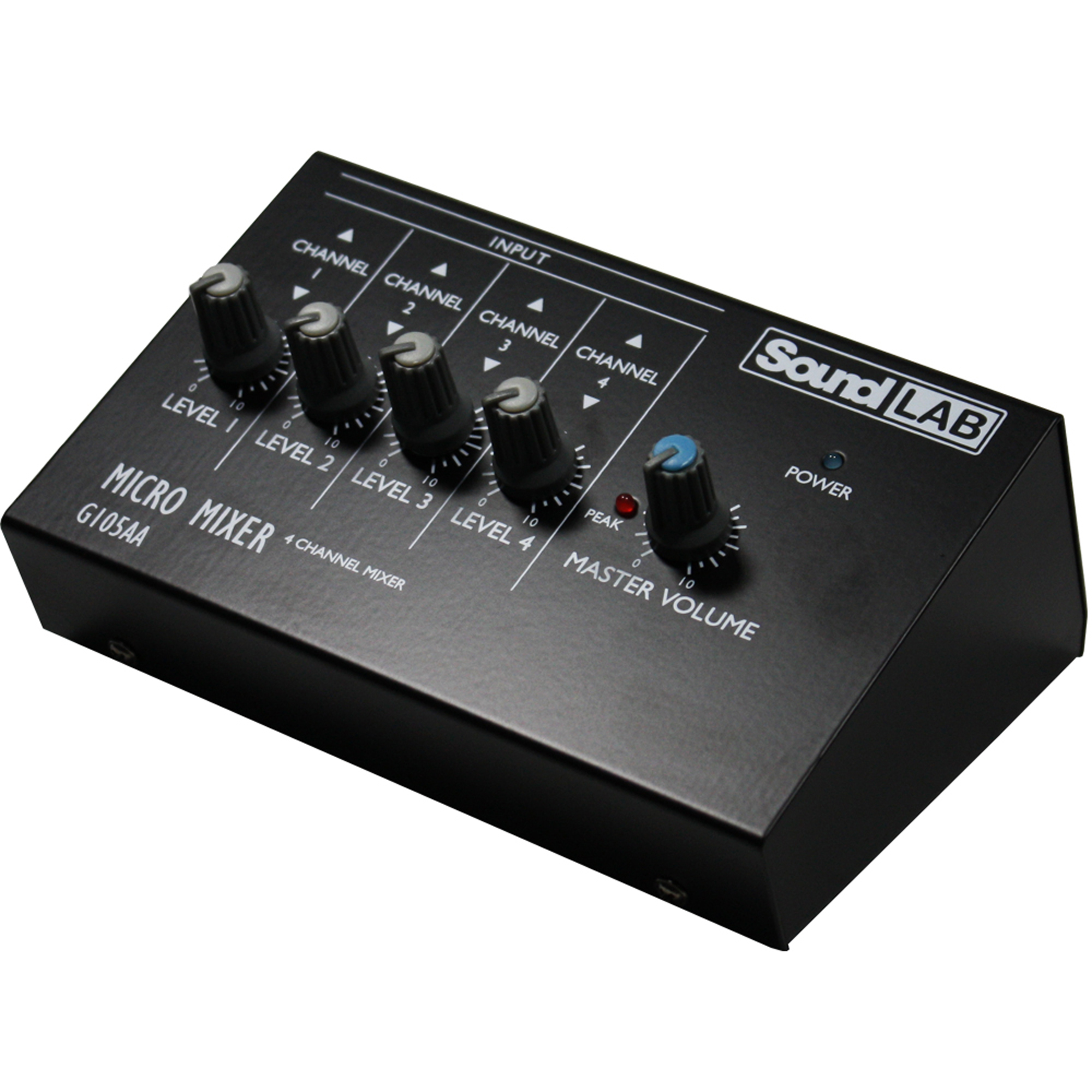 Sound LAB 4 Channel Mono Mixer