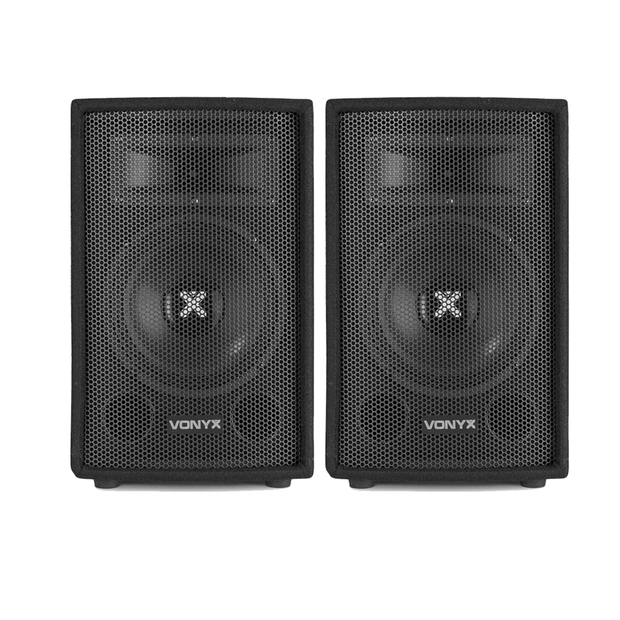 Strange Details About 2X Vonyx 8 Portable Passive Pa Dj Sound System Bedroom Speakers 400W Ssc2166 Download Free Architecture Designs Rallybritishbridgeorg