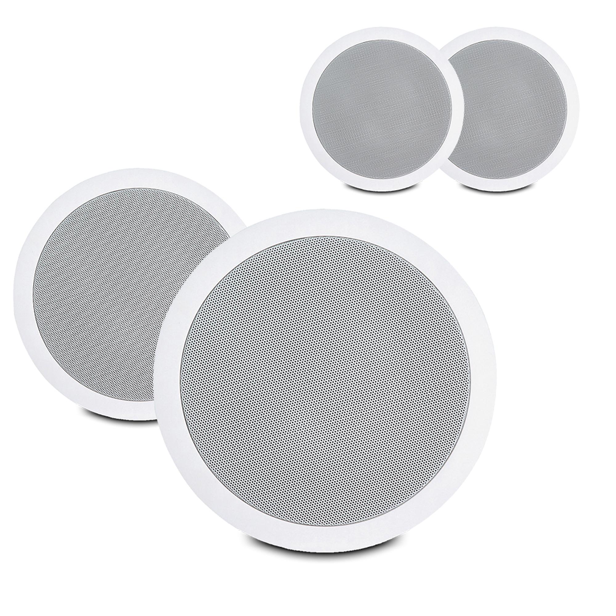 "PD CSPT6 6.5"" 100V Ceiling Speakers, Set of 4"