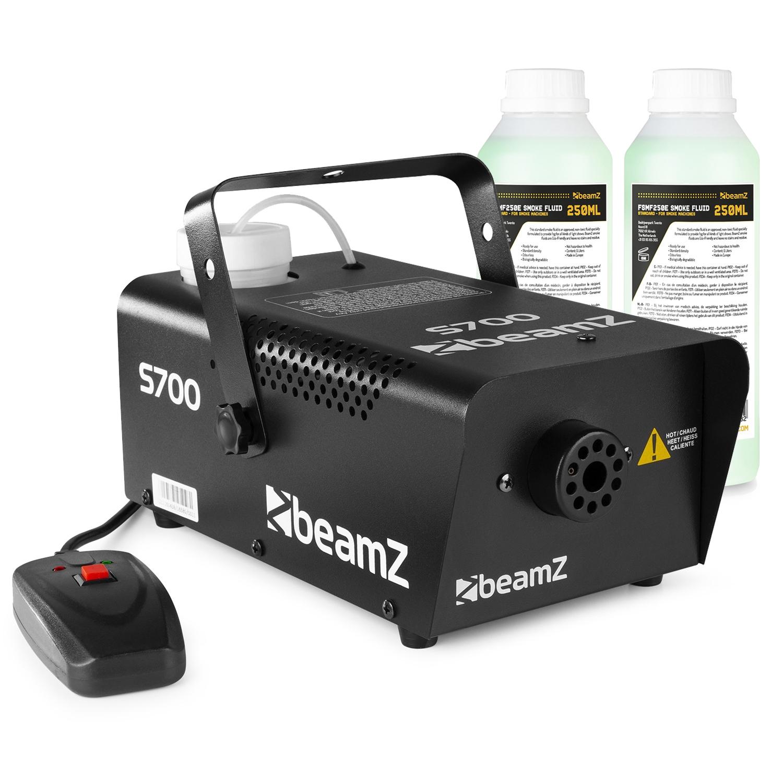 BeamZ S700 Smoke Machine & 500ml Fluid