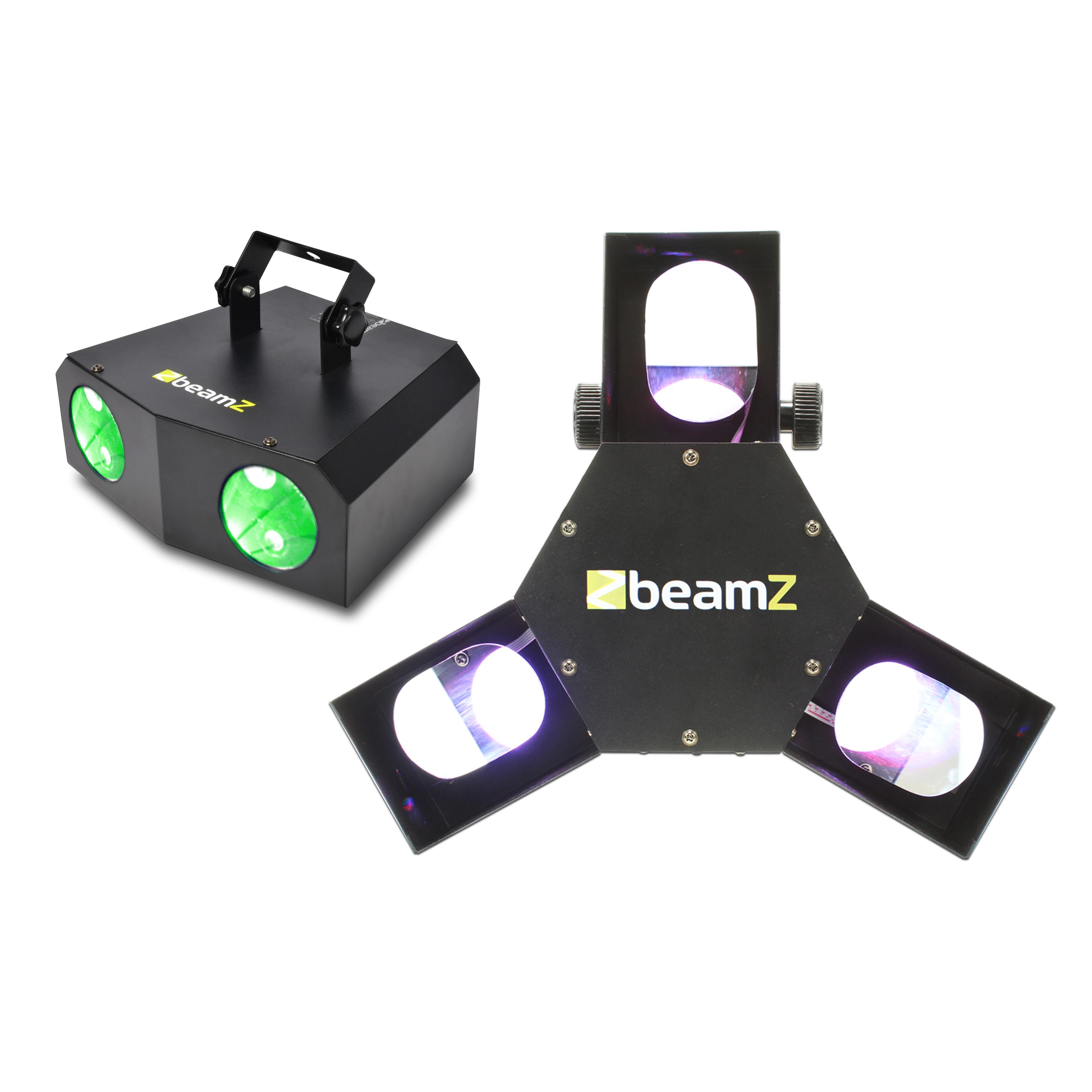 BeamZ Triple Flex & Nomia Party Light Set