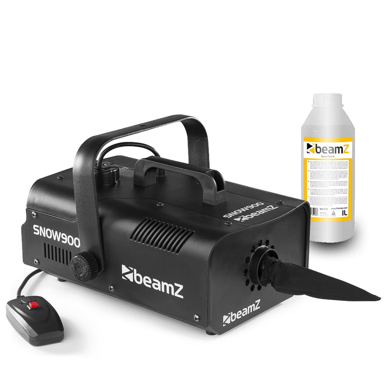 BeamZ SNOW900 Snow Machine & 1L Fluid