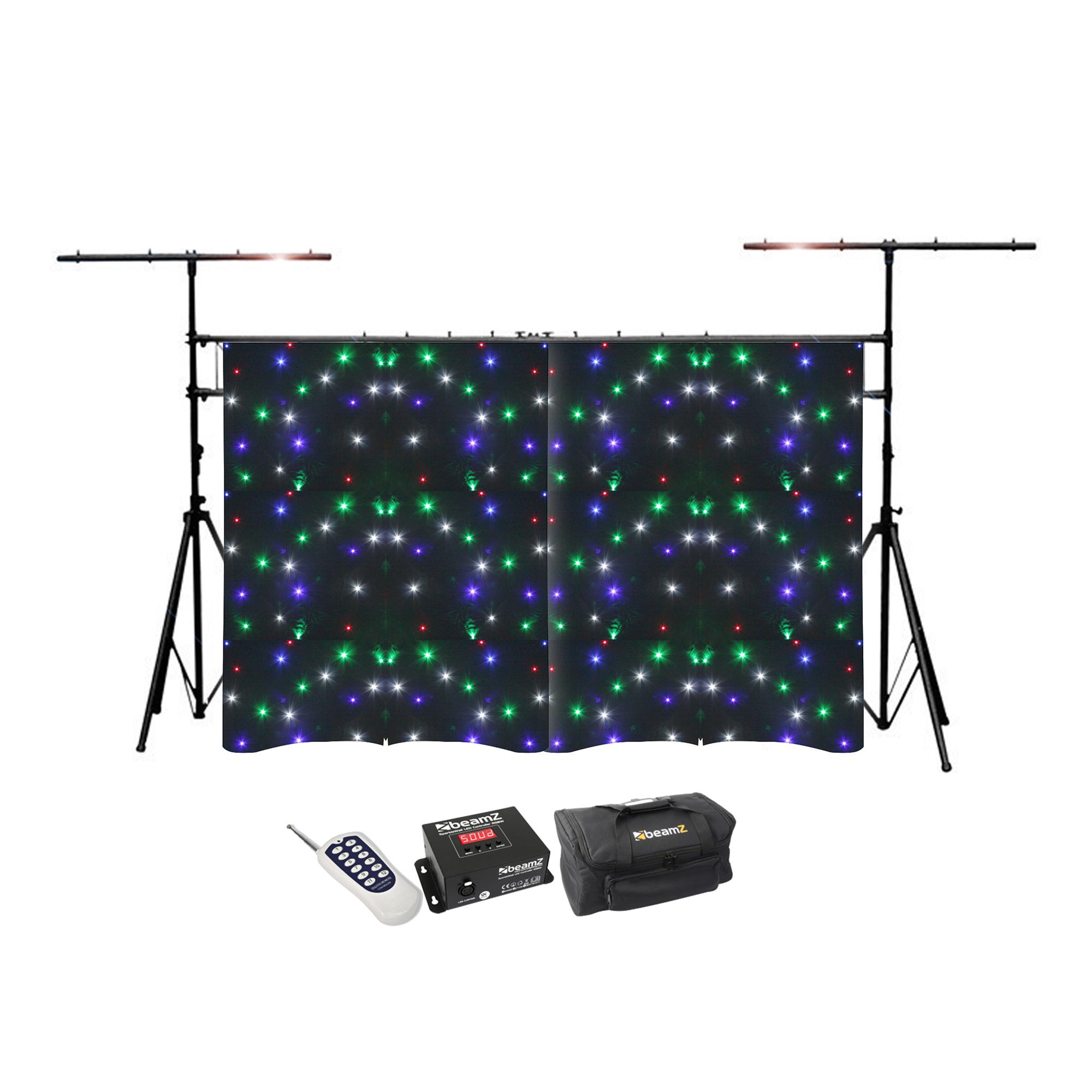 BeamZ Sparklewall LED Star Cloth & Frame