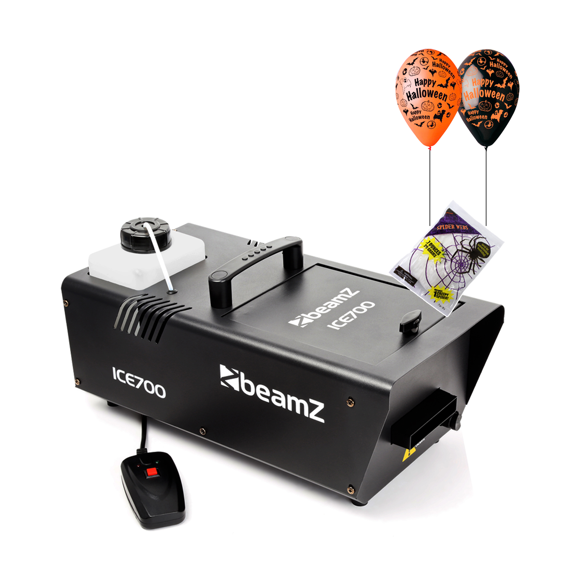 Halloween Party Package with ICE700 Low Fog Machine & Halloween Decorations