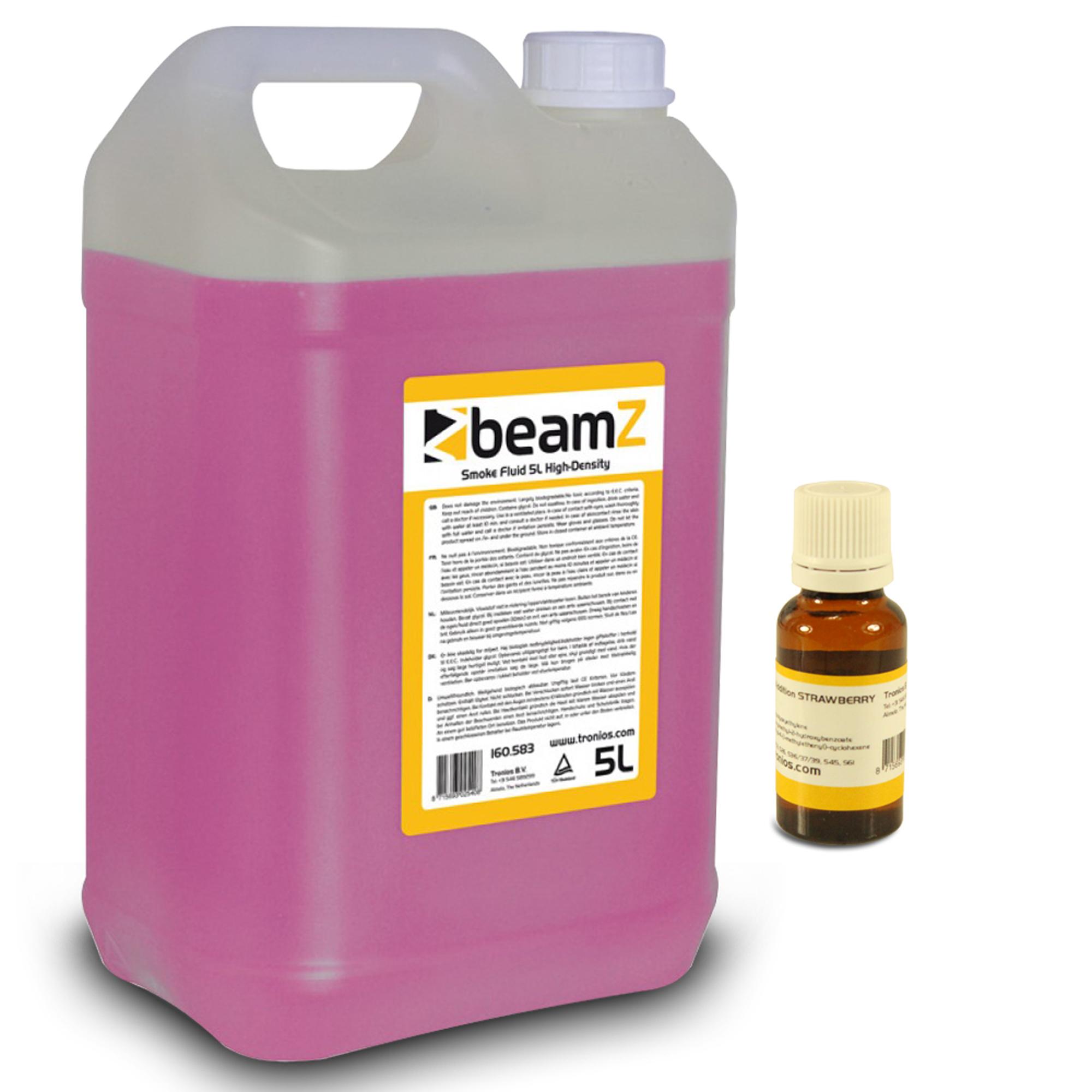 BeamZ 5L High Quality Smoke Fluid & Strawberry Scent