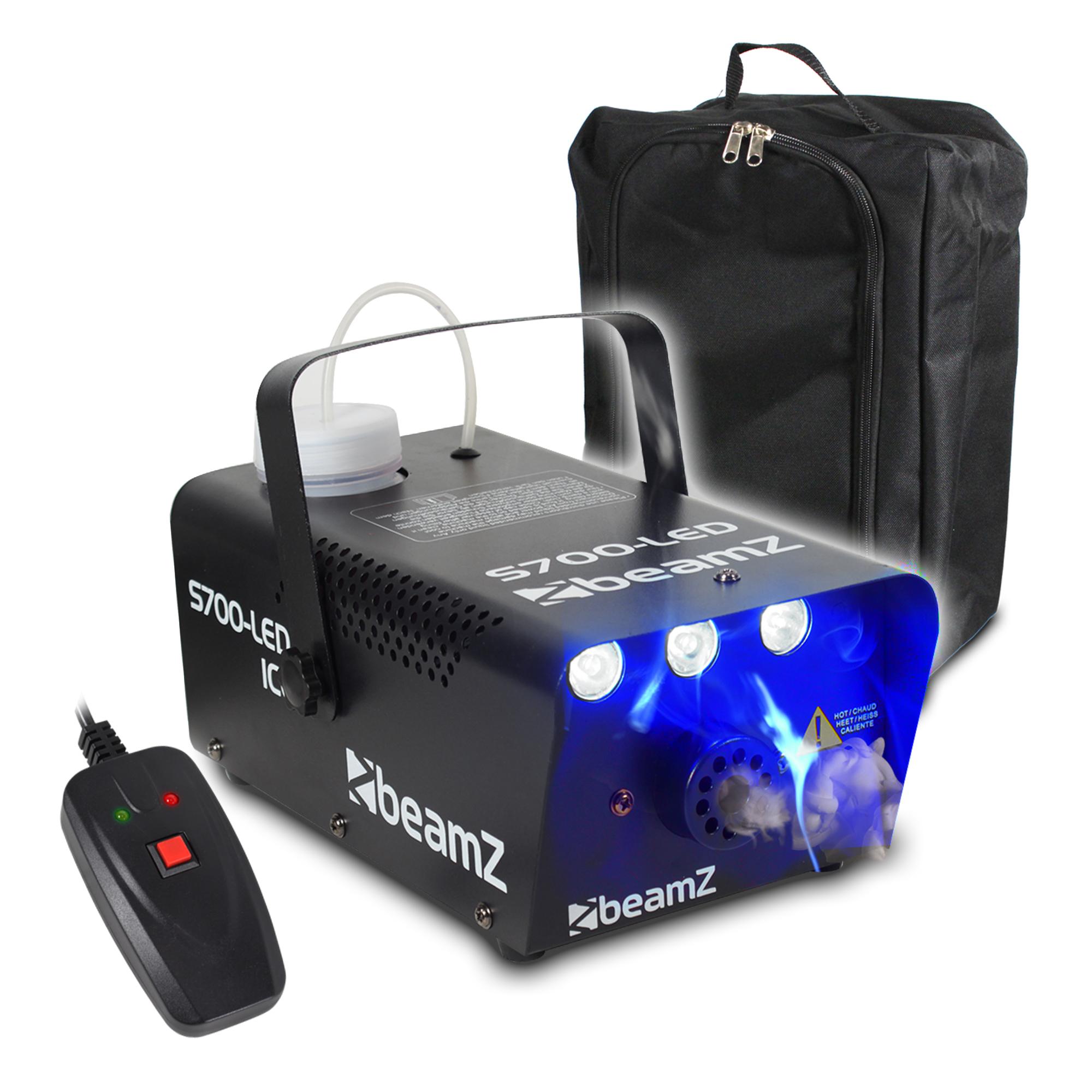 BeamZ S700-LED Ice Effect Smoke Machine & Gear Sack
