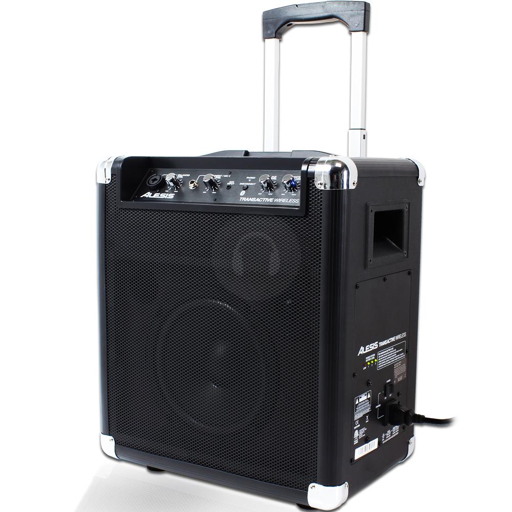 alesis transactive wireless portable powered bluetooth speaker system dj pa home ebay. Black Bedroom Furniture Sets. Home Design Ideas