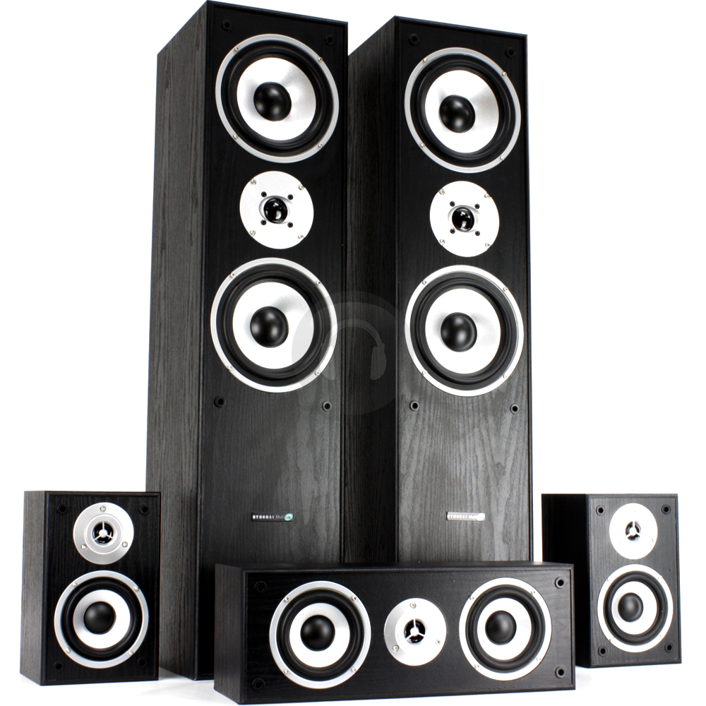 5 1 Hifi Surround Sound System Tower Speakers Subwoofer