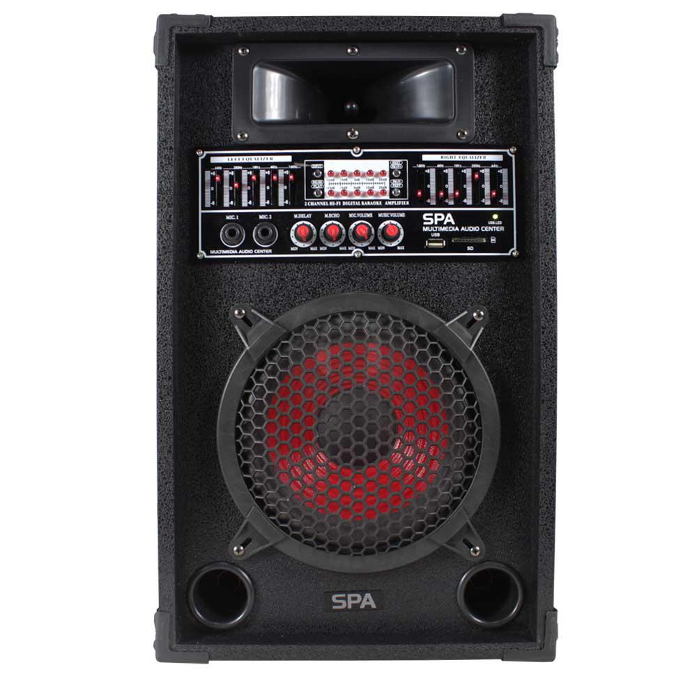 Home Hifi 600w Active Pa Disco Karaoke Speaker Usb Mp3