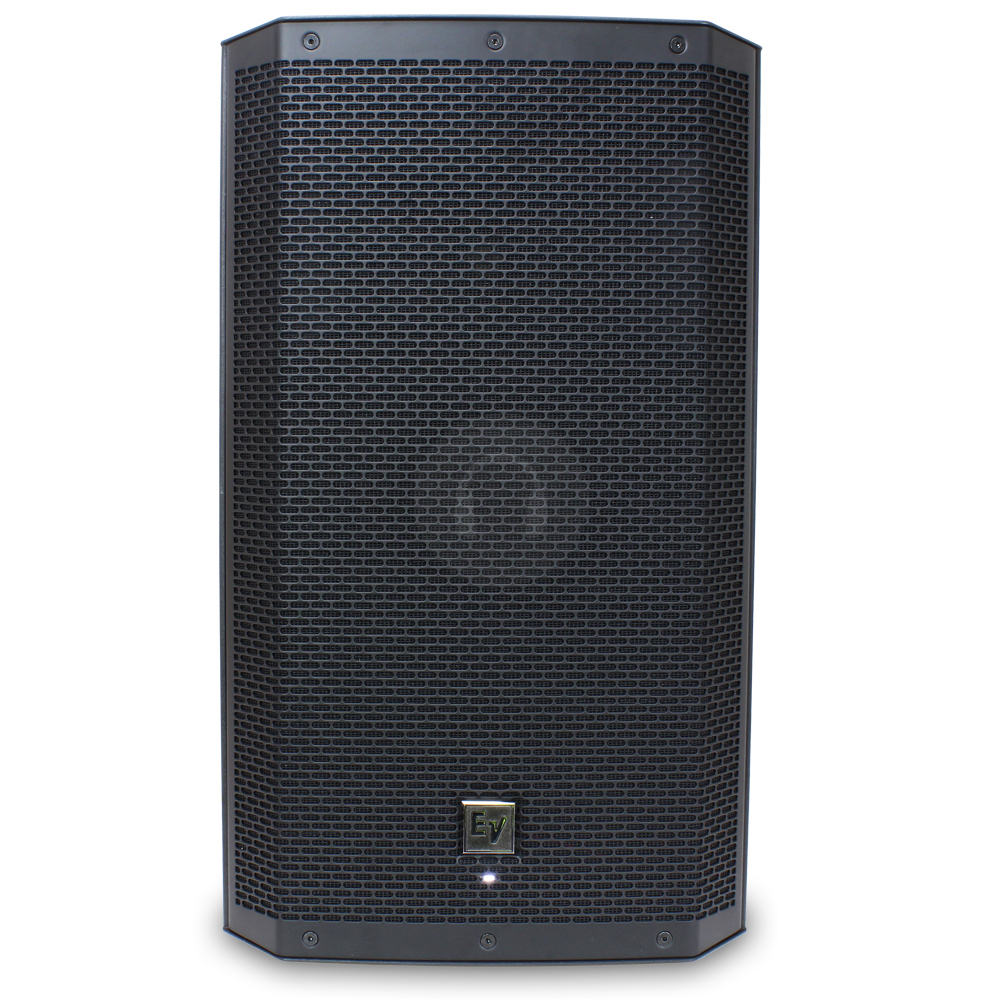 2x electro voice ev zlx 12p 12 active powered speakers stands dj pa disco 2000w ebay. Black Bedroom Furniture Sets. Home Design Ideas