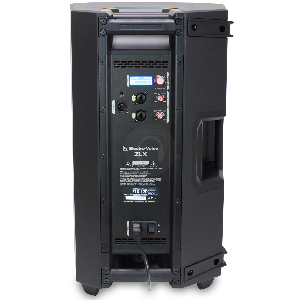 electro voice ev zlx 12p 12 active powered loud speaker 1000w dj disco pa ebay. Black Bedroom Furniture Sets. Home Design Ideas