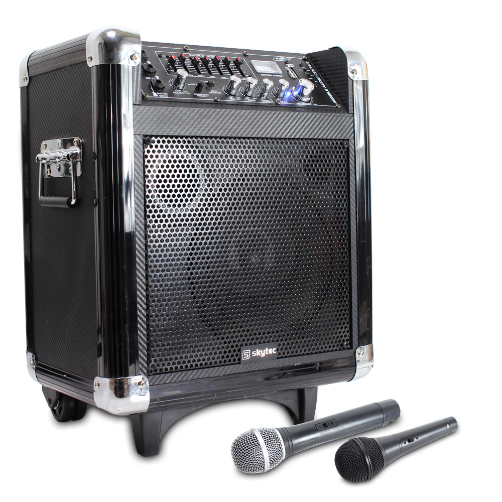 how to make a microphone and speaker system