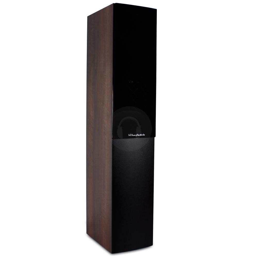pair of wharfedale quartz q7 walnut hi fi tower speakers 100w ebay. Black Bedroom Furniture Sets. Home Design Ideas