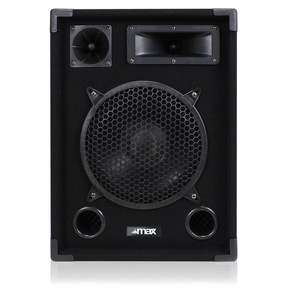 pair 10 passive bedroom dj speakers woofer disco party full range 8 ohm 500w 5055839185836 ebay. Black Bedroom Furniture Sets. Home Design Ideas