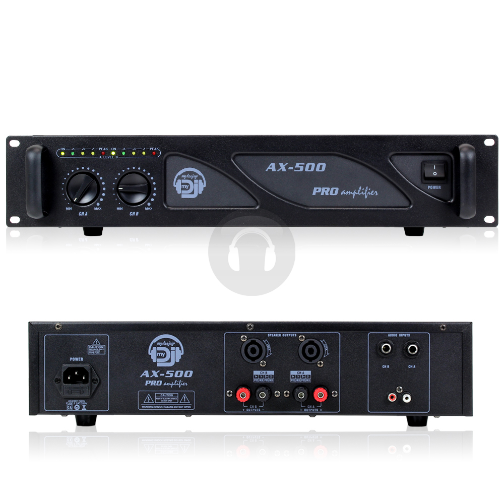 how to connect dj sound system