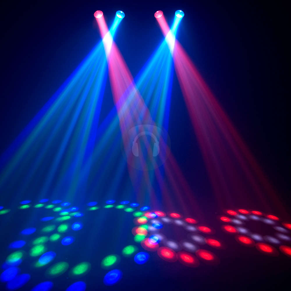 Cheap chauvet 4play led moonflower dj disco light ebay for Eclairage stand