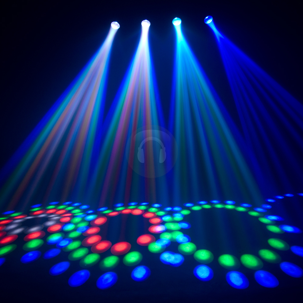 Chauvet 4PLAY Super Bright RGB LED DMX DJ Disco Light | eBay