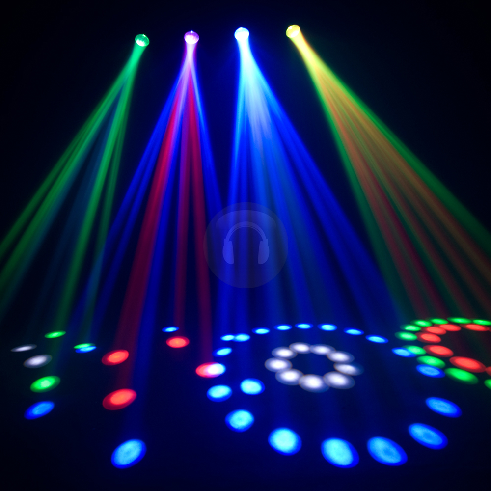 Led Wall Dj Light: Chauvet 4PLAY Super Bright RGB LED DMX DJ Disco Light
