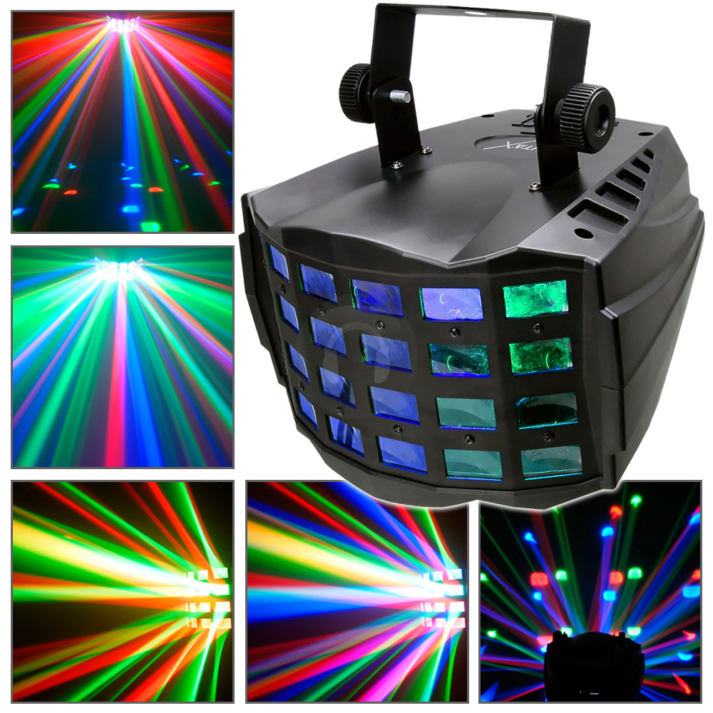 Led Wall Dj Light: 1x 2x Chauvet Kinta-X Party Disco LED Lights DJ Lighting