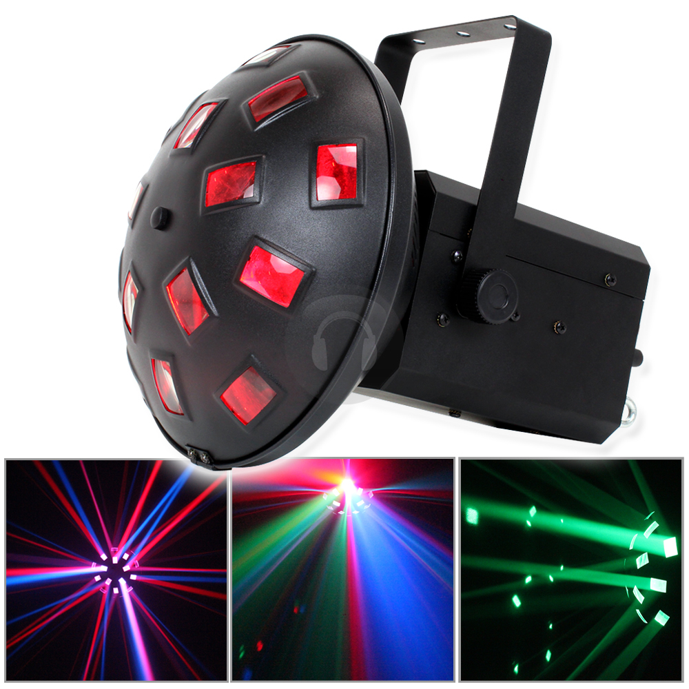 ekho led dj disco light couleur dmx son actif house party lighting effect. Black Bedroom Furniture Sets. Home Design Ideas