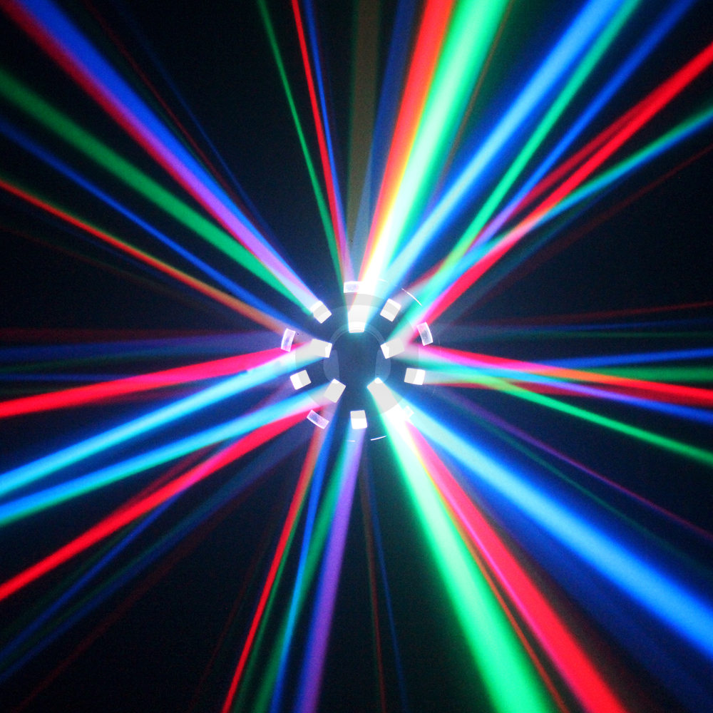 Ekho Asopus LED Mushroom 6 x 3w Disco Light