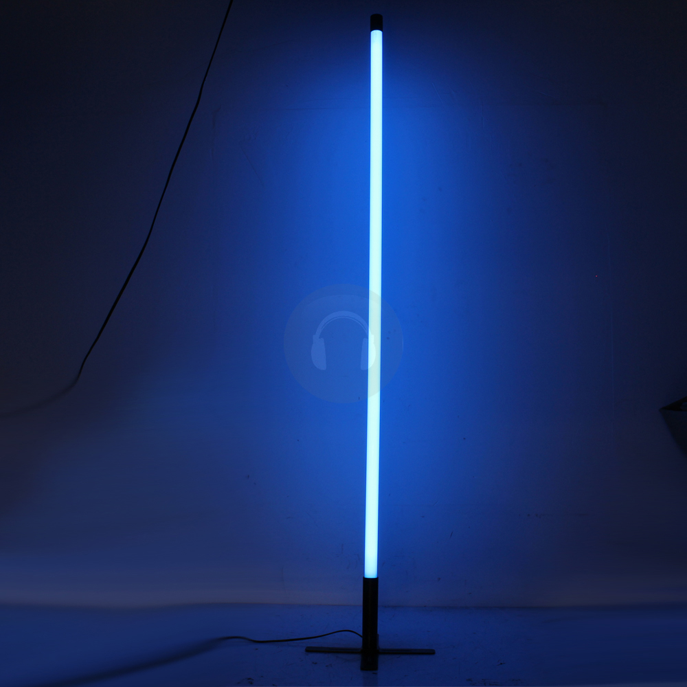 4x blue neon tube lights decoration lighting effects. Black Bedroom Furniture Sets. Home Design Ideas