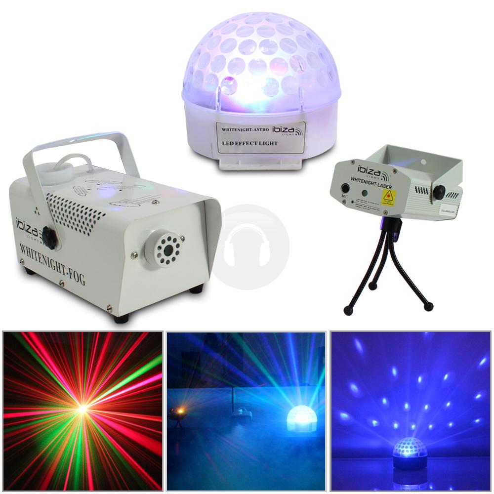 Ibiza Portable Party Dj Led Light Club Laser Disco Ball