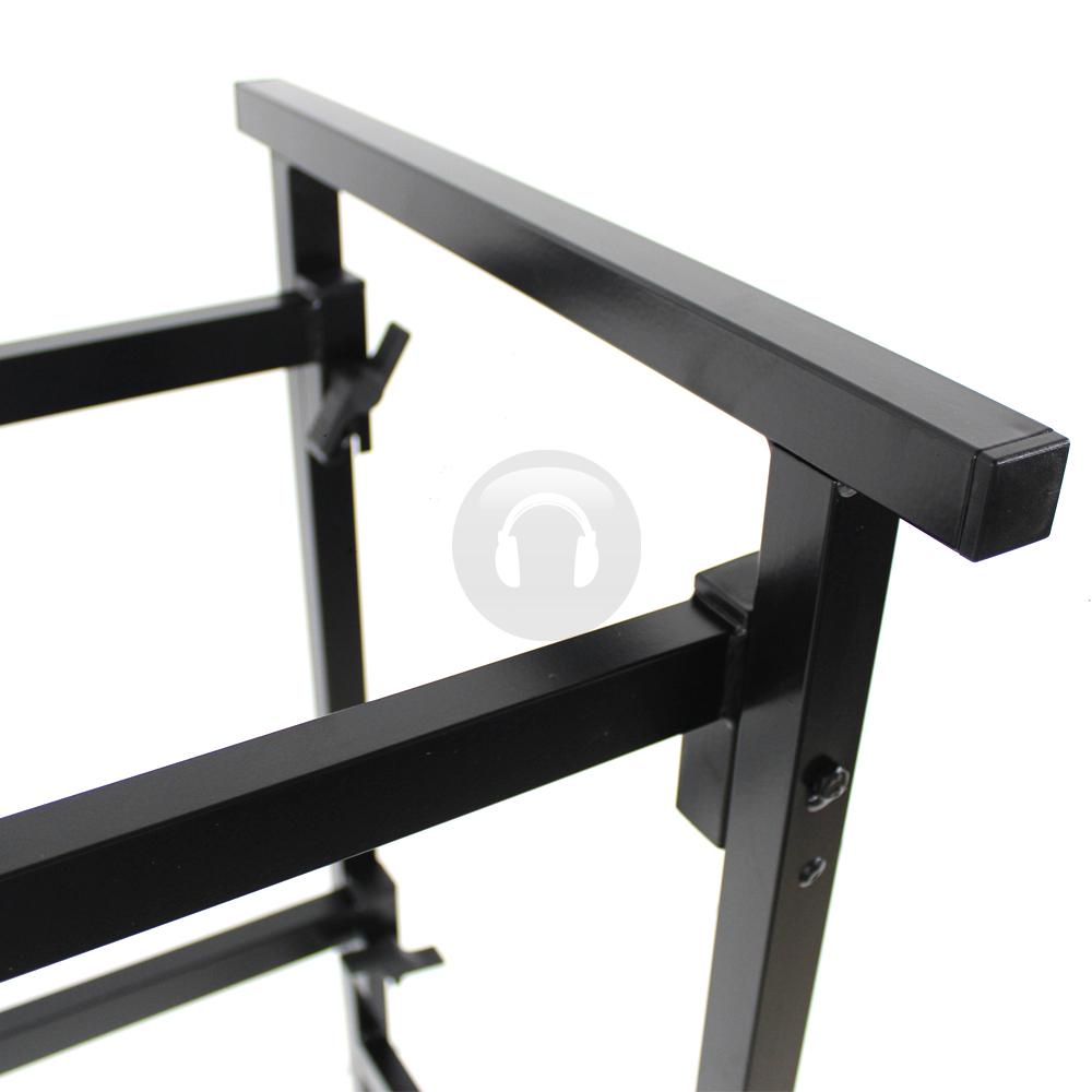 ekho 4 panel mobile dj disco lighting booth facade screen 6 ft pro rig stand. Black Bedroom Furniture Sets. Home Design Ideas