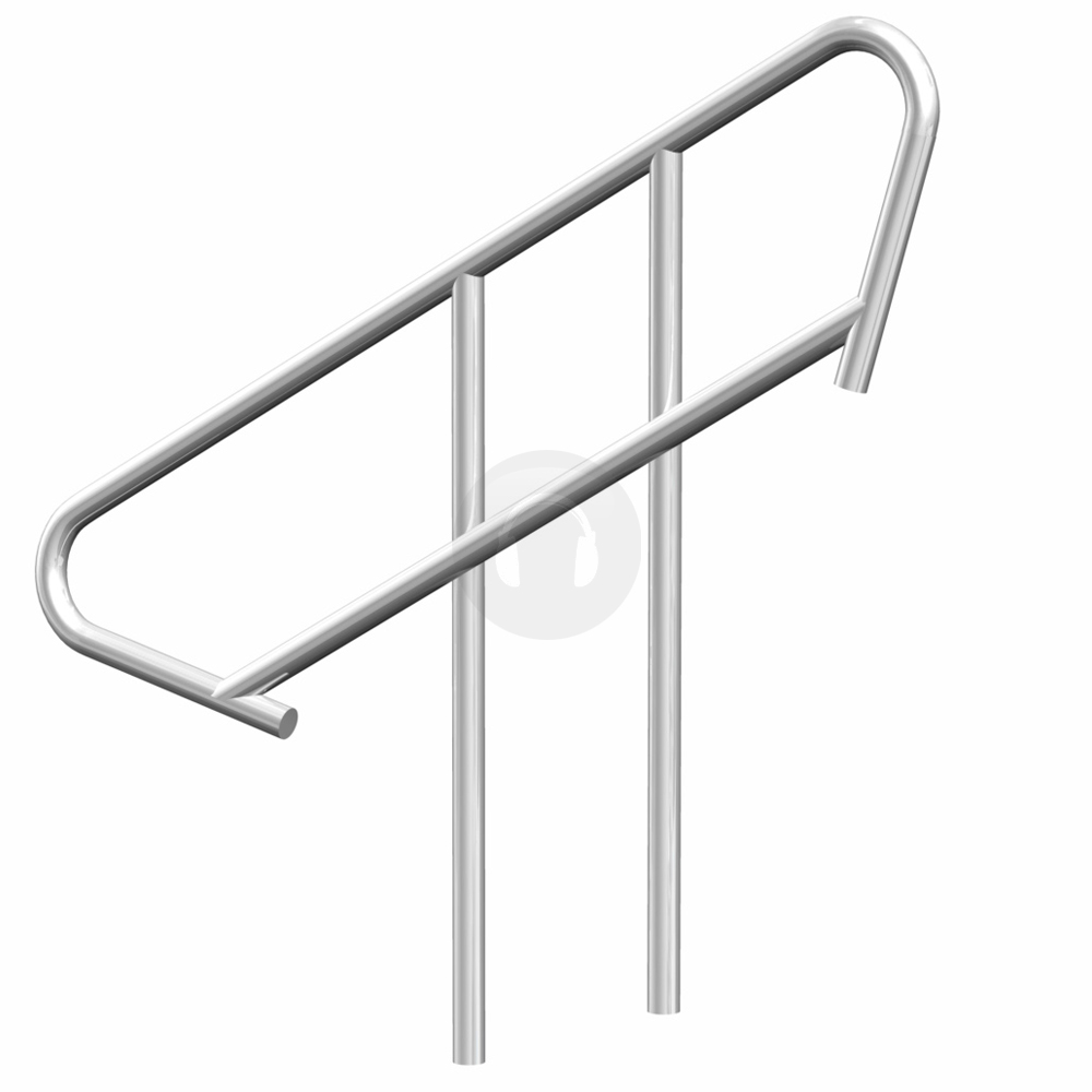 Portable Steps With Railing : M lightweight portable stage step stair handrail