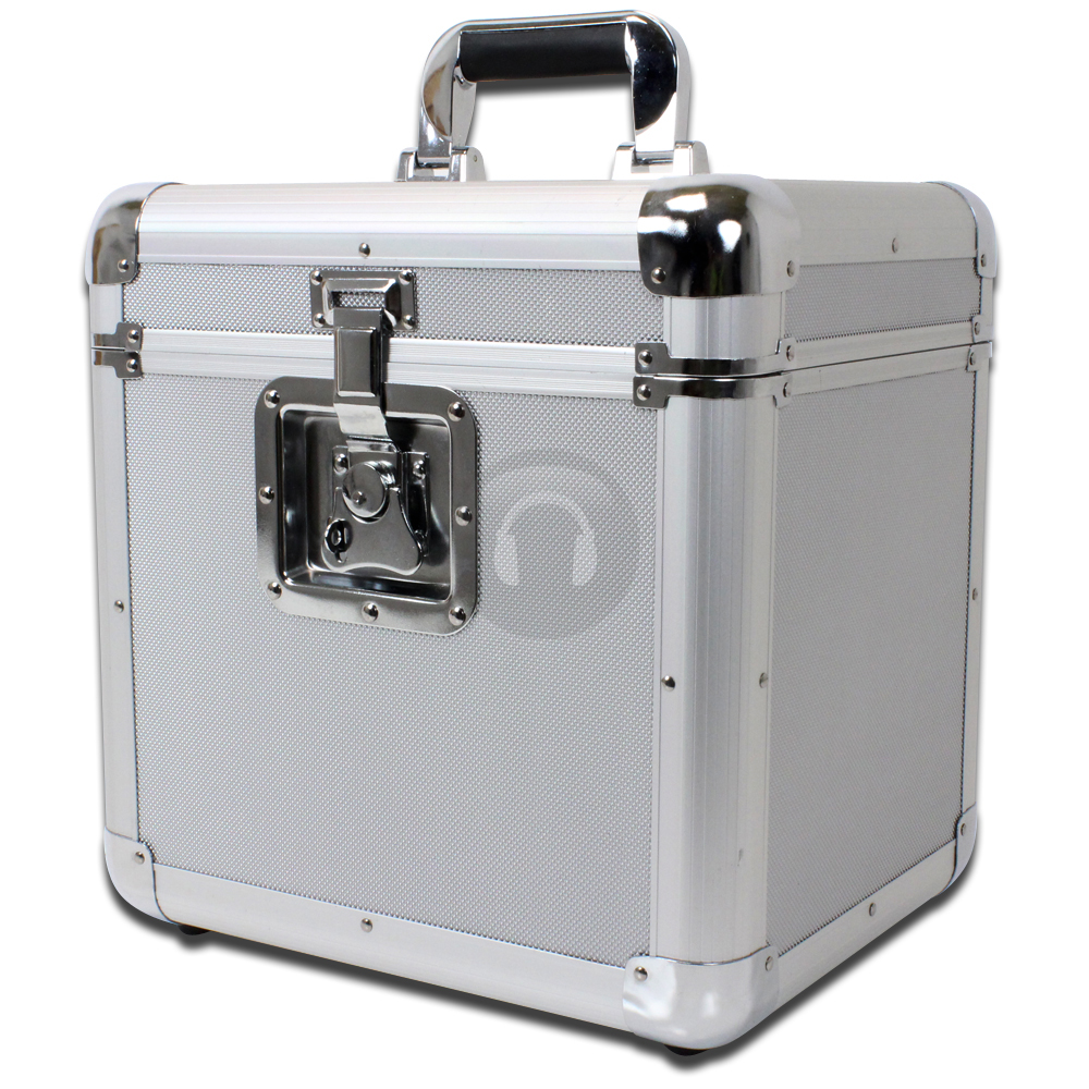 Cheap Soundlab Euro Style Silver 70 Vinyl Records Protective Flight Case | eBay