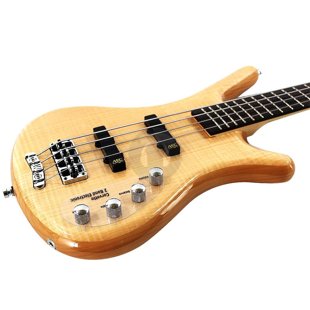 warwick rock bass corvette premium 4 string bass guitar natural finish ebay. Black Bedroom Furniture Sets. Home Design Ideas