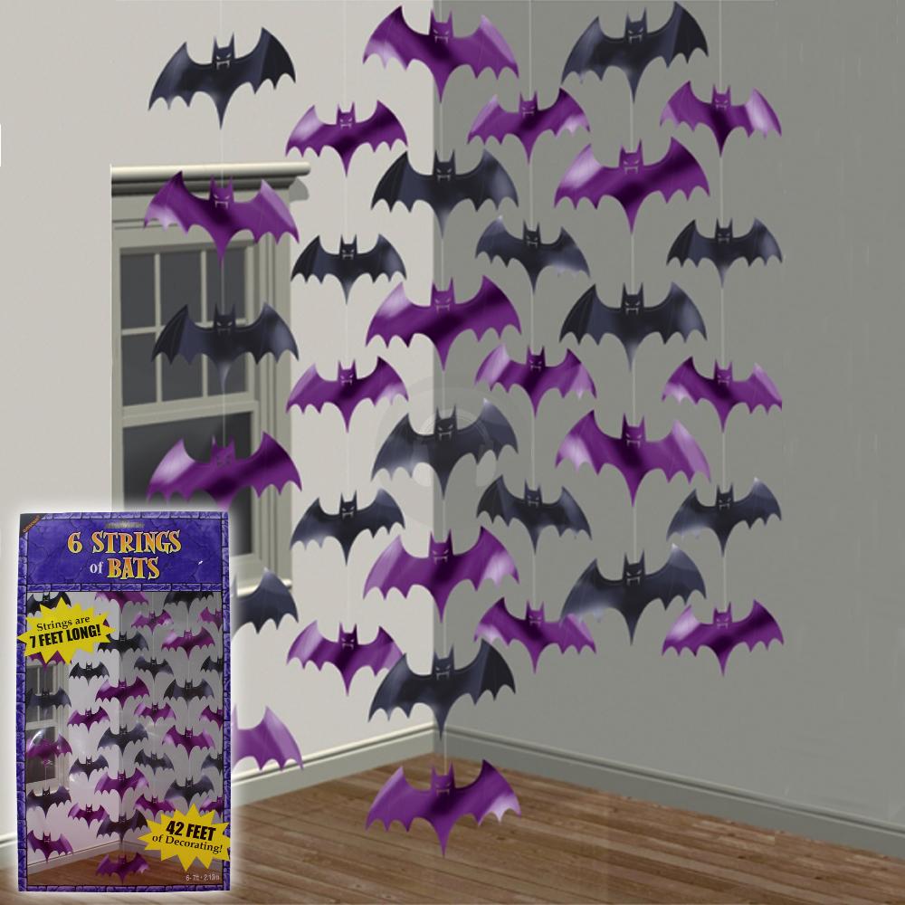 Decorating Ideas > Halloween Party Hanging Bat String Decorations Disco DJ  ~ 141416_Halloween Door Hanging Decorations