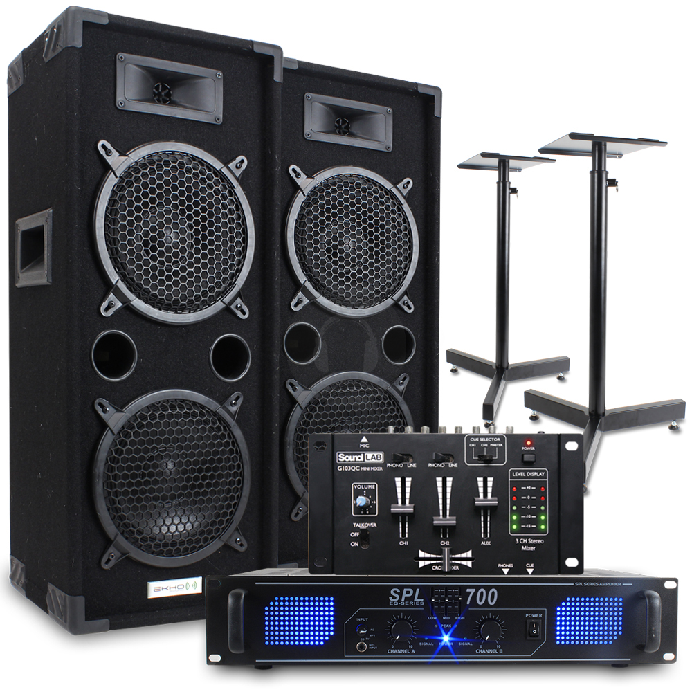 how to hook up speakers to virtual dj Party mix includes virtual dj le to make mixing your music audio outputs for your speakers and headphone preview virtual dj le software numark party mix.