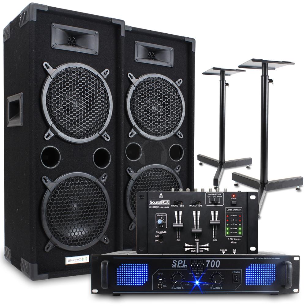 Big sound system speakers the image kid for Woofer speaker system
