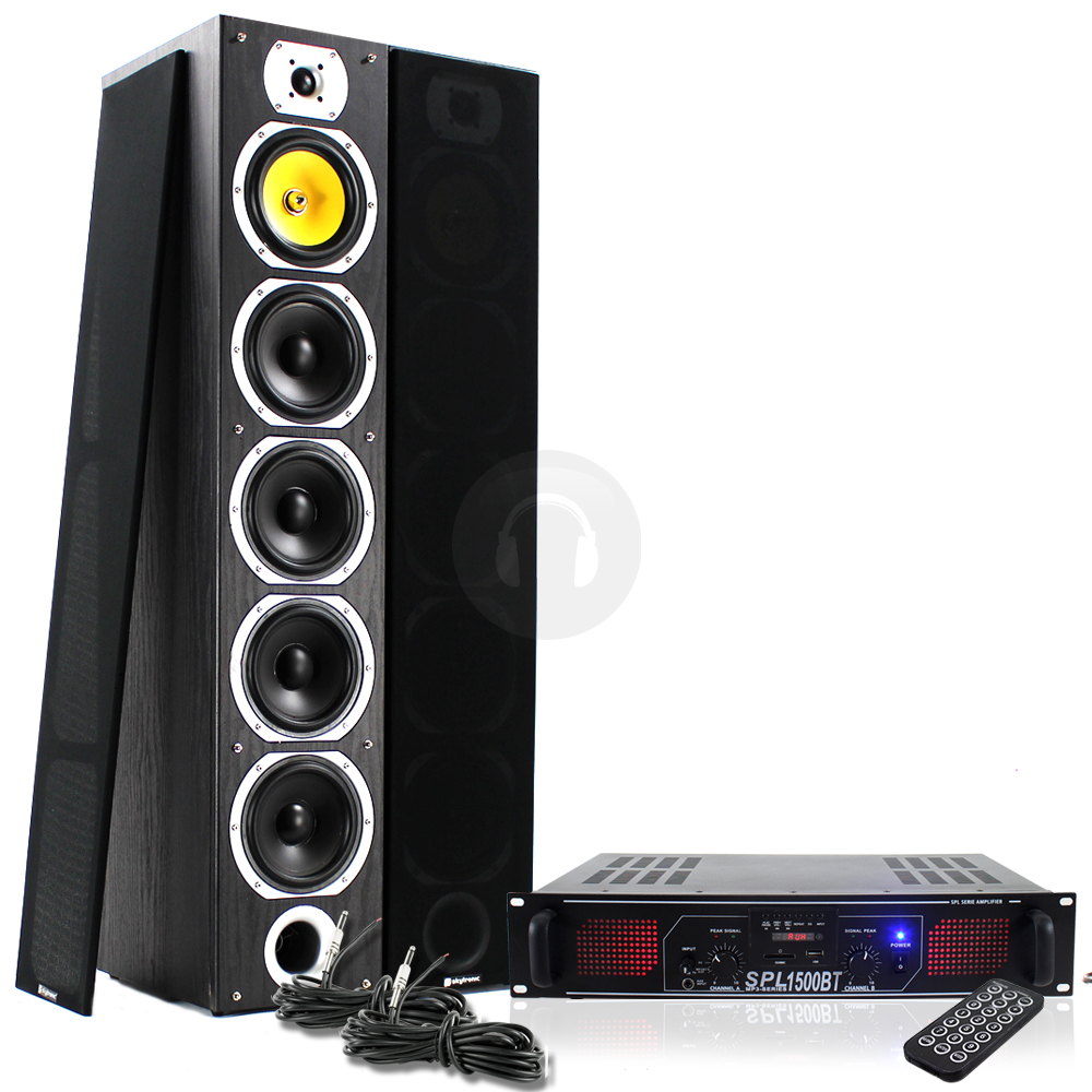 House Party Speakers 2x Skytronic Hi-fi House Party