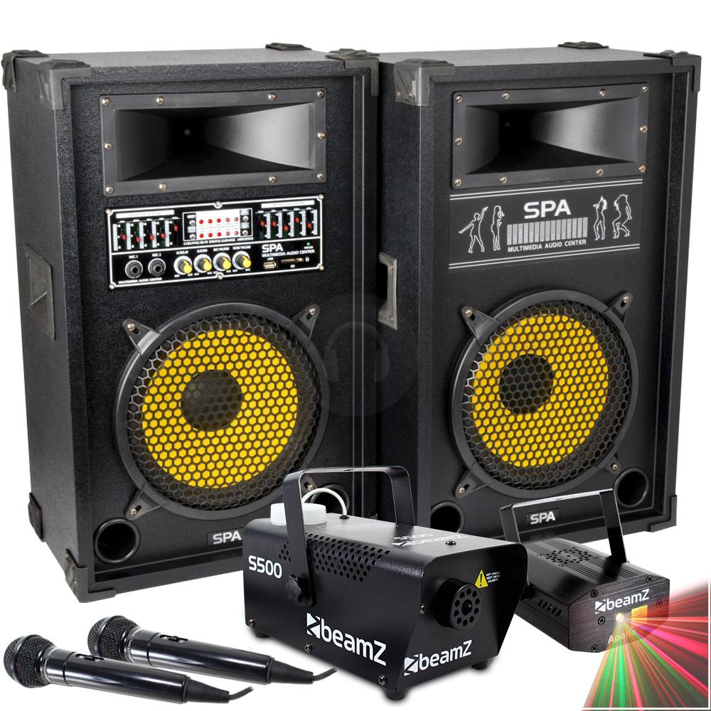 laser karaoke machine
